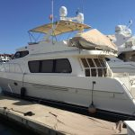 Moving to San Diego is a McKinna 57 Pilothouse Yacht For Sale in San Diego-8