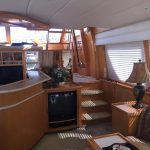 Moving to San Diego is a McKinna 57 Pilothouse Yacht For Sale in San Diego-24
