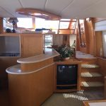 Moving to San Diego is a McKinna 57 Pilothouse Yacht For Sale in San Diego-25