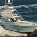 is a Hatteras GT45X Tower Yacht For Sale in San Diego-19