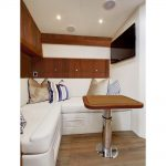 is a Hatteras GT45X Tower Yacht For Sale in San Diego-11