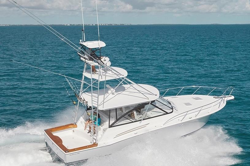 is a Hatteras GT45X Open Yacht For Sale in San Diego-0