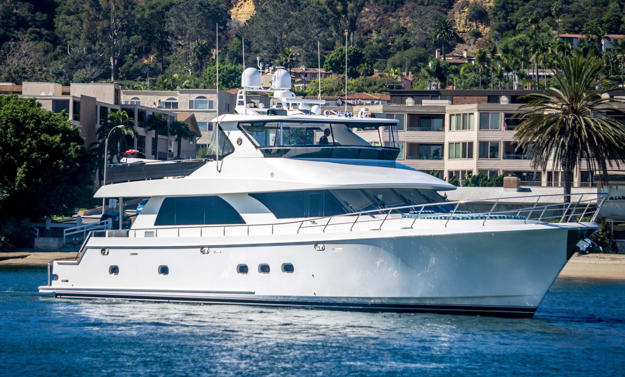 NAUTI BUOYS is a Ocean Alexander 80 Cockpit Motoryacht Yacht For Sale in San Diego-0