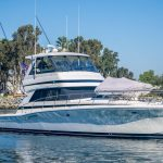 Dun Looking is a Riviera 48 Convertible Yacht For Sale in San Diego-1