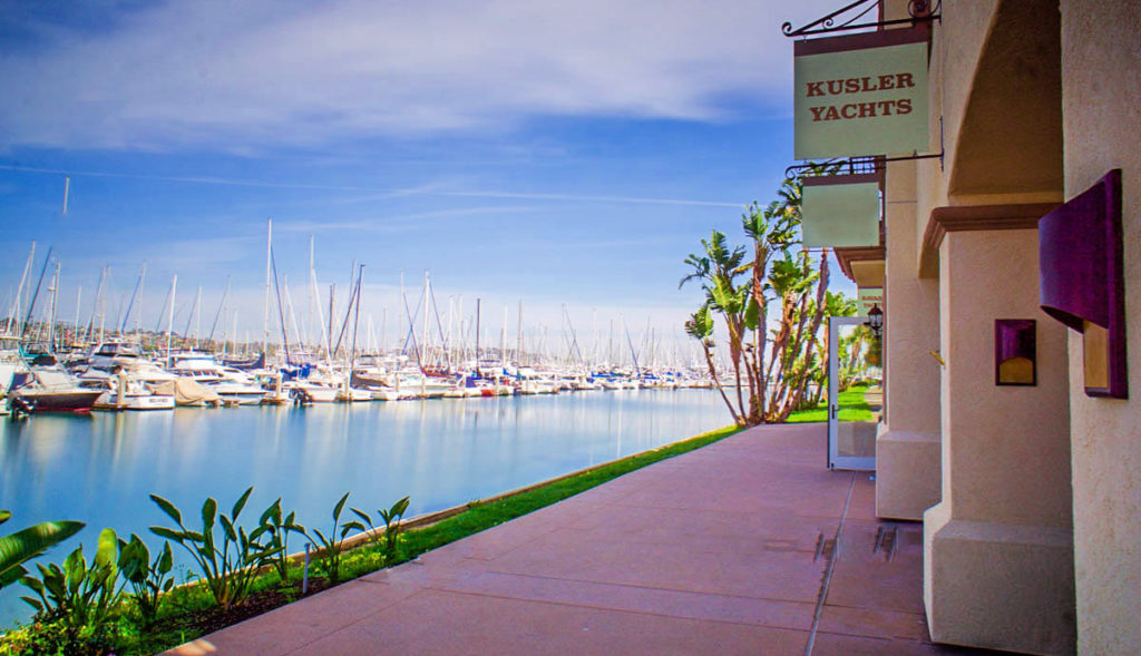 The Kusler Yachts Office in San Diego