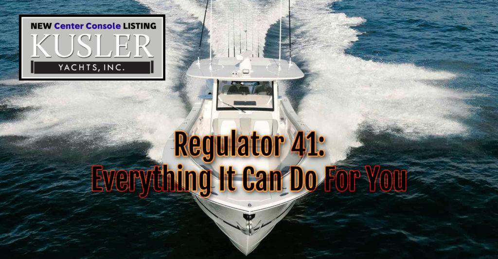 41 regulator coming at you