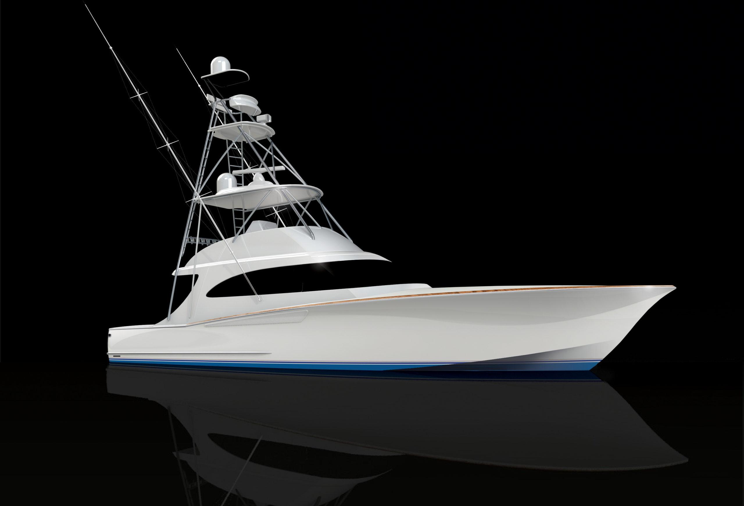 Albemarle 53 Spencer Edition 3D Rendering